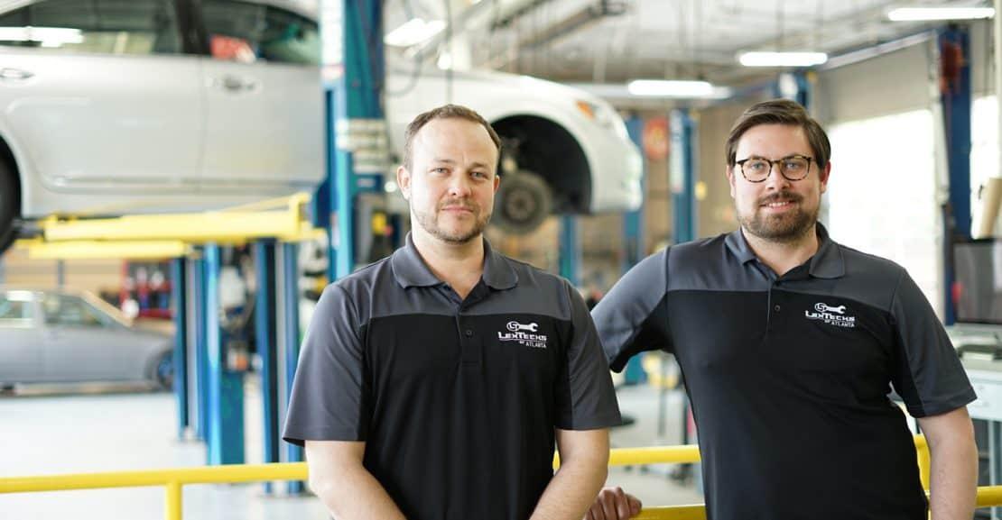 Lexus Repair Slider