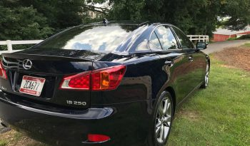 2009 Lexus IS 250 full