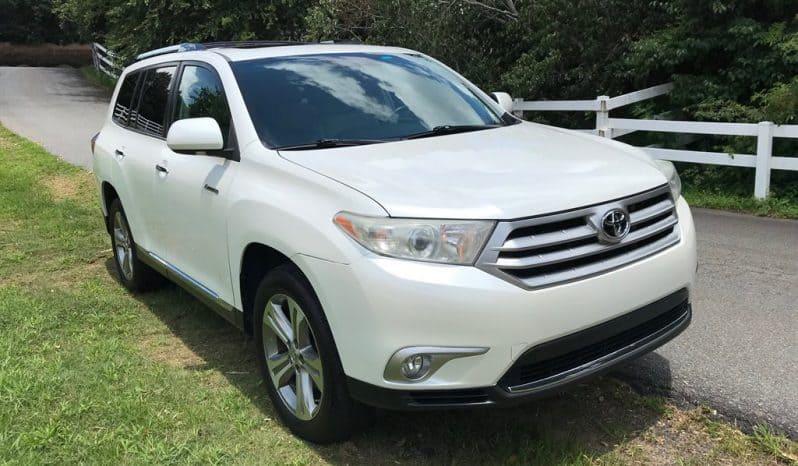 2011 Toyota Highlander Limited full