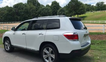 2011 Toyota Highlander Limited full